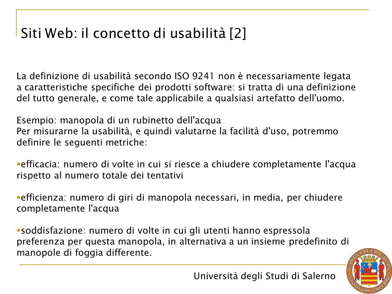 Siti Web: il concetto di usabilità [2]